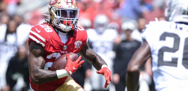 Why isn't Trey Sermon playing for 49ers? Week 1 healthy scratch surprises fantasy owners