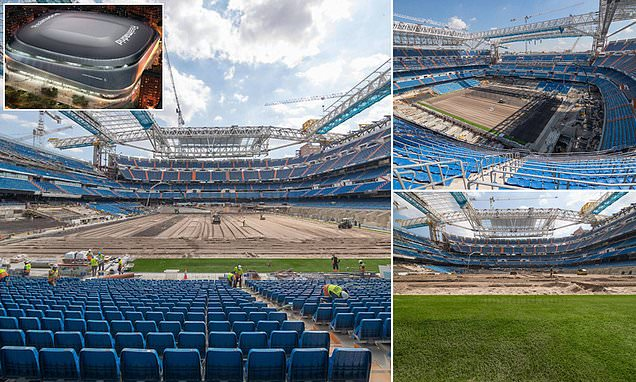 'The miracle of the Bernabeu': Real have site  READY for Sunday