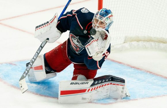 'Am I going to be all right?' Blue Jackets' Merzlikins tries to move on after death of Kivlenieks