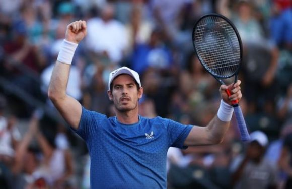 Andy Murray admits it's 'amazing' he's even back playing with metal hip