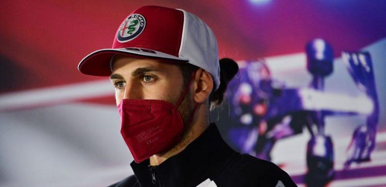 Antonio Giovinazzi ignoring team orders at Turkish Grand Prix 'not ideal', Alfa Romeo admit
