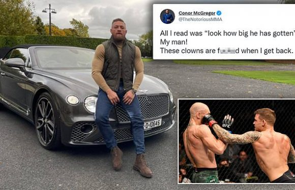Conor McGregor leaves fans stunned after revealing he has bulked up