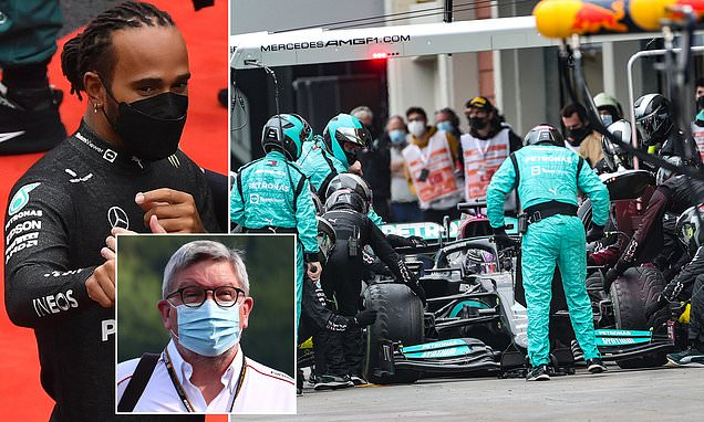 Hamilton was heading for a 'DISASTER' at the Turkish GP, says Brawn