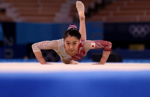 Japanese Olympic gymnast suffers serious spinal injury in fall