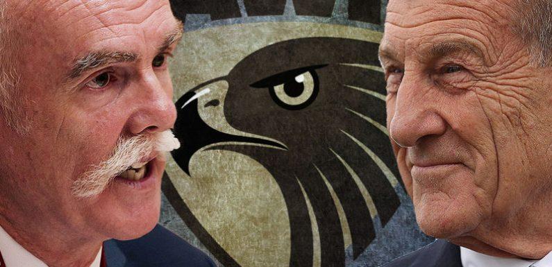 Kennett's board facing challenge from former Super boss, ex-Hawk