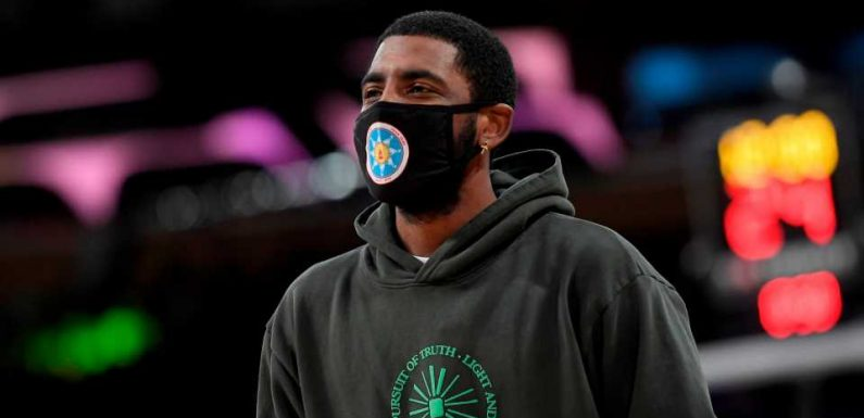 Kyrie Irving won't play or practice with Nets until he's 'eligible to be a full participant'
