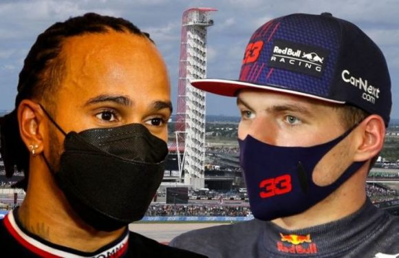 Lewis Hamilton's response when asked about Max Verstappen's 12-point lead in F1 title race