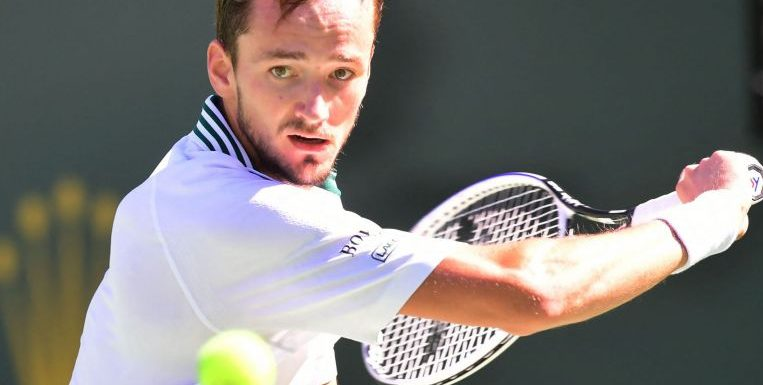 Tennis: US Open champ Medvedev ousted by Dimitrov in Indian Wells