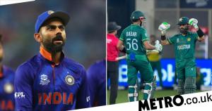 Virat Kohli reacts as Pakistan thrash India in T20 World Cup opener
